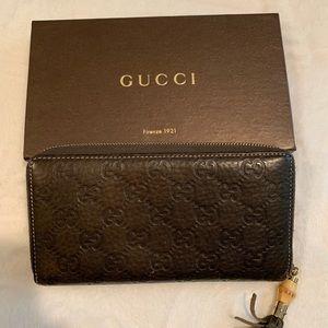 96639f56ad351e Women Gucci Bamboo Tassel Wallet on Poshmark